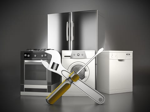 Refrigerator, electric oven, washing machine and dishwasher repair service